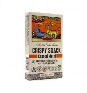 Индийские пшеничные хлебцы с Пажитником (Crispy Snack Kasoori Methi), Good Sign Company