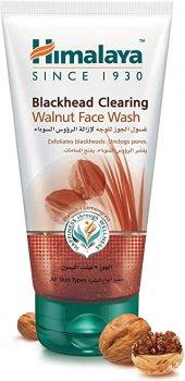 Гель для умывания с грецким орехом от чёрных точек (Blackhead Clearing Walnut Face Wash), Himalaya Herbals