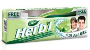 Зубная паста-гель Алоэ вера, DABUR HERBАL