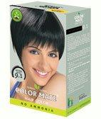 Натуральная краска для волос без аммиака Сolor Mate, Натуральная Черная