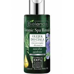 Масло для тела лён розмарин Botanic Spa Rituals, Bielenda