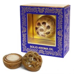 Натуральные сухие духи в каменной шкатулке Patchouli, Song of India
