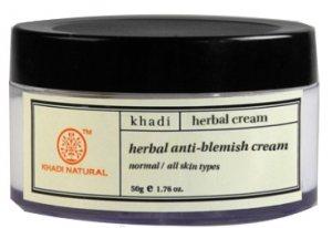Крем осветляющий пятна и рубцы (Herbal Anti Blemish Cream), Khadi