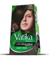 Крем-краска для волос с зернами кофе Vatika Naturals, Темно-коричневый