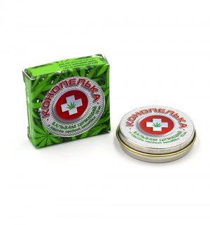 Бальзам целительный Конопелька с маслом семян каннабиса (Cannabis Balm), Nanoline