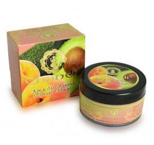 Антивозрастной крем для лица Персик и авокадо, Chandi