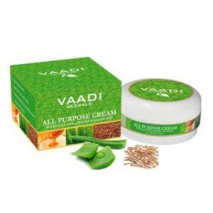 Многофункциональный крем с Алоэ, Медом и Манжиштой, Vaadi Herbals