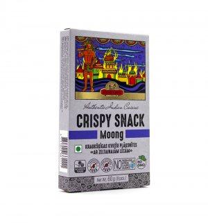 Индийские пшеничные хлебцы с Кунжутом и Мунг далом (Crispy Snack Moong), Good Sign Company
