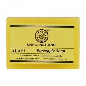 Аюрведическое мыло ручной работы Ананас (Pineapple soap), Khadi