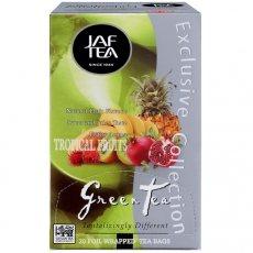 Чай Jaf Tea Green Tea Tropical Fruit в пакетиках