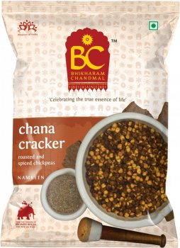 Натуральная закуска BHIKHARAM CHANDMAL Chana cracker