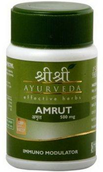 Амрут (Гудучи) иммуномодулятор (Amruth), Sri Sri Ayurveda