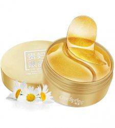 Гидрогелевые патчи с золотым комплексом (Gold Eye Mask), One Spring