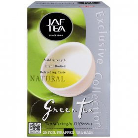 Чай Jaf Tea Grean Tea Natural в пакетиках