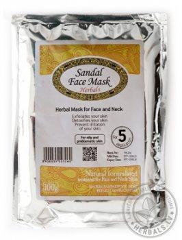 Очищающая травяная маска для лица Сандал, Elfarm