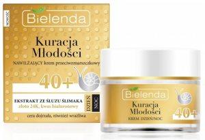 Увлажняющий крем против морщин 40  День/Ночь (Kurasja Mlodosci), Bielenda