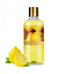 Гель для душа с экстрактом лимона и базилика (Lemon & basil Shower Gel), Vaadi