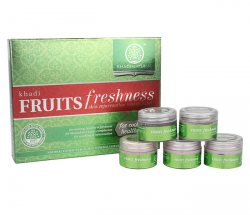 Подарочный набор для лица 5 в 1 Fruits, Khadi