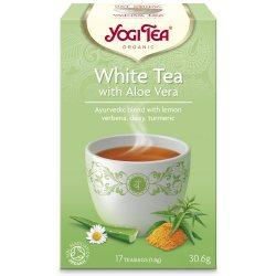 Аюрведический йога чай White tea Aloe Vera, Yogi tea
