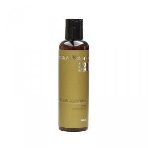 Увлажняющее молочко для ухода за кожей тела после загара с экстрактом каннабиса (After Sun Body Milk Extra Hydratation), Cannabis