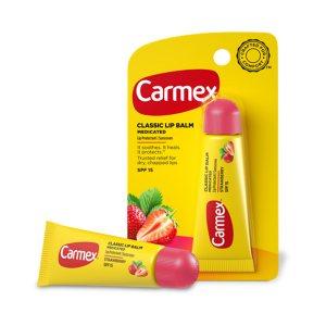 Бальзам для губ Клубника SPF 15 в тубе, Carmex