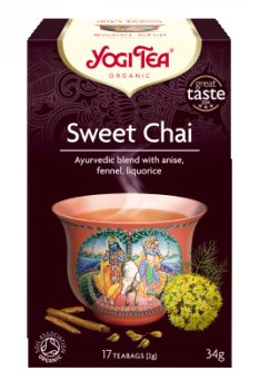 Аюрведический йога чай Sweet Chai, Yogi tea