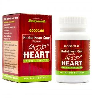 Кардиопротектор в капсулах (Herbal Heart Care Good Heart Cardio Protector), Goodcare
