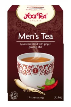 Аюрведический йога чай Для Мужчин (Men's Tea), Yogi tea