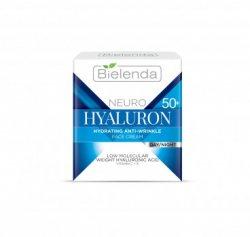 Увлажняющий крем против морщин день-ночь (Hyaluron 50+), Bielenda