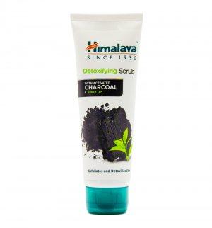 Детокс скраб с углем для очищения лица (Detoxifying scrub with activated charcoal), Himalaya Herbals