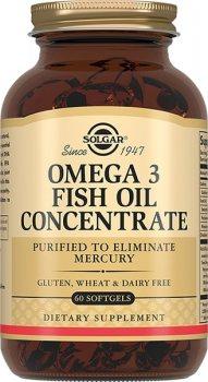 Омега-3 (Концентрат рыбьего жира), Solgar