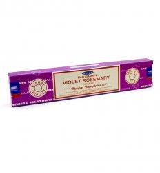 Благовония Фиолетовый Розмарин (Violet Rosemary incense), Satya