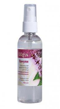Натуральная цветочная вода успокаивающая и увлажняющая Пачули, Aasha Herbals