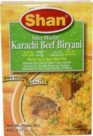 Приправа для острого плова Karachi Beef Biriani, Shan