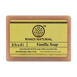 Аюрведическое мыло ручной работы Ваниль (Vanilla soap), Khadi