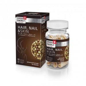 "Витамины ""Волосы Ногти Кожа"" (Hair Nail Skin), Swiss Energy"