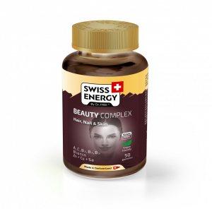 "Желейные витамины ""Бьюти Комплекс"" БЕЗ САХАРА (Beauty Complex Hair, Skin & Nail Sugar Free), Swiss Energy"