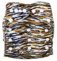 Подгузник многоразовый Тигровый, StylishBaby