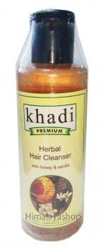 Аюрведический шампунь мед и ваниль, Khadi