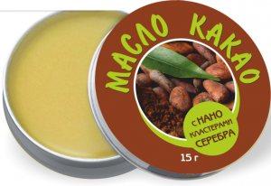 Масло какао с нанокластерами серебра, NanoLine