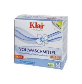 Органический универсальный стиральный порошок с экстрактом мыльного ореха, Klar
