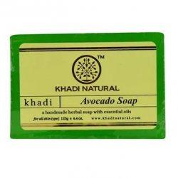 Аюрведическое мыло ручной работы Авокадо (Avocado soap), Khadi