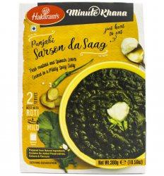 Готовое блюдо Сарсон да Сааг (Sarson da saag minute khana), Haldiram's