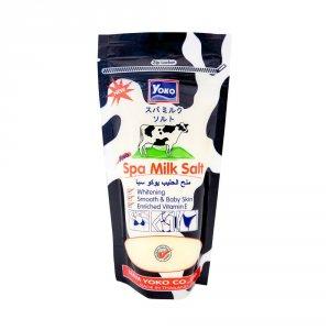 Скраб-соль для тела с молочным протеином (Spa Milk Salt with Milk Protein), Yoko