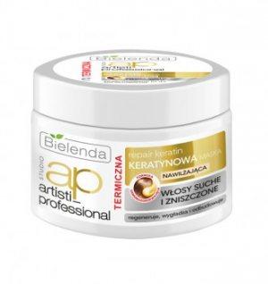 Кератиновая маска для сухих и поврежденных волос Aristi Professional, Bielenda