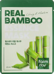 Увлажняющая маска для лица с экстрактом бамбука (Real Bamboo Essence Mask), Farmstay