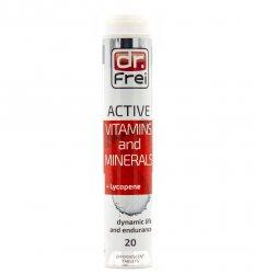 Актив Витамины и Минералы + Ликопен (Active Vitamins and Minerals+Lycopene), Dr. Frei