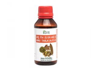 Аюрведическое масло Anu Taila, Patanjali
