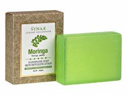 Натуральное мыло ручной работы Моринга Moringa, Synaa