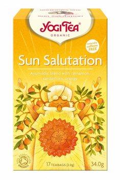 Аюрведический йога чай Приветствие Солнцу (Sun Salutation), Yogi tea